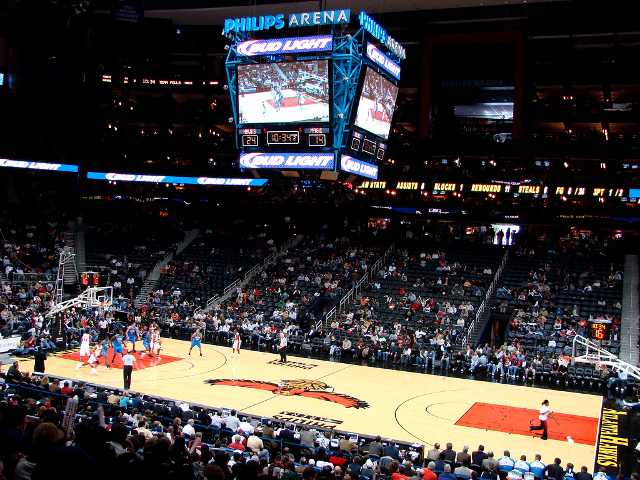 Atlanta Hawks Club Seats