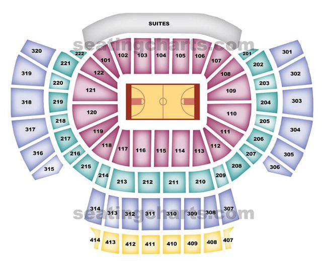 Atlanta Hawks Seating Chart For Philips Arena
